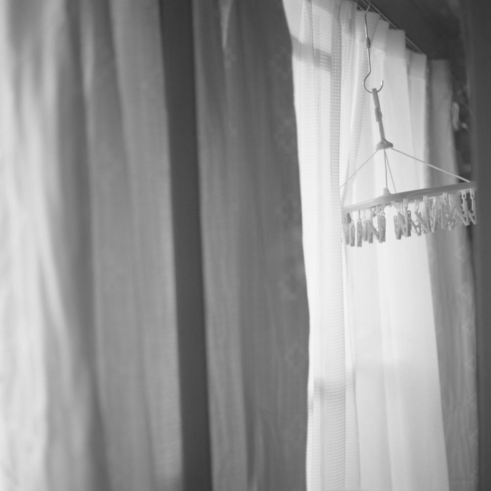 祖母の部屋の窓