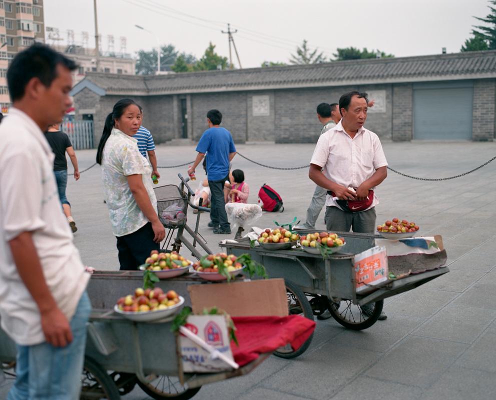 北京の町並み