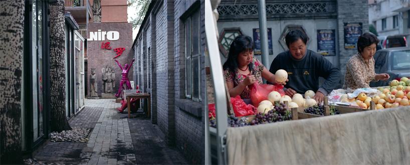 カメラマンと北京